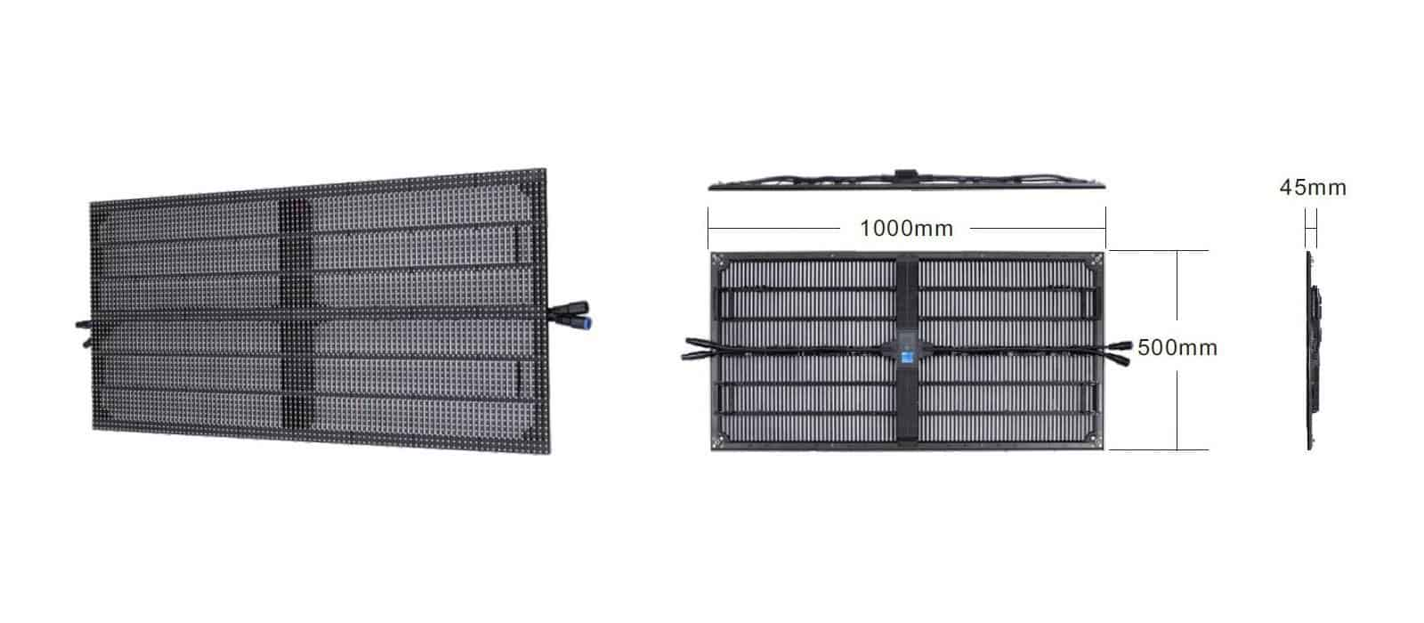 Glux-BATN10CD-10mm-led-panel-hire-Barcelona