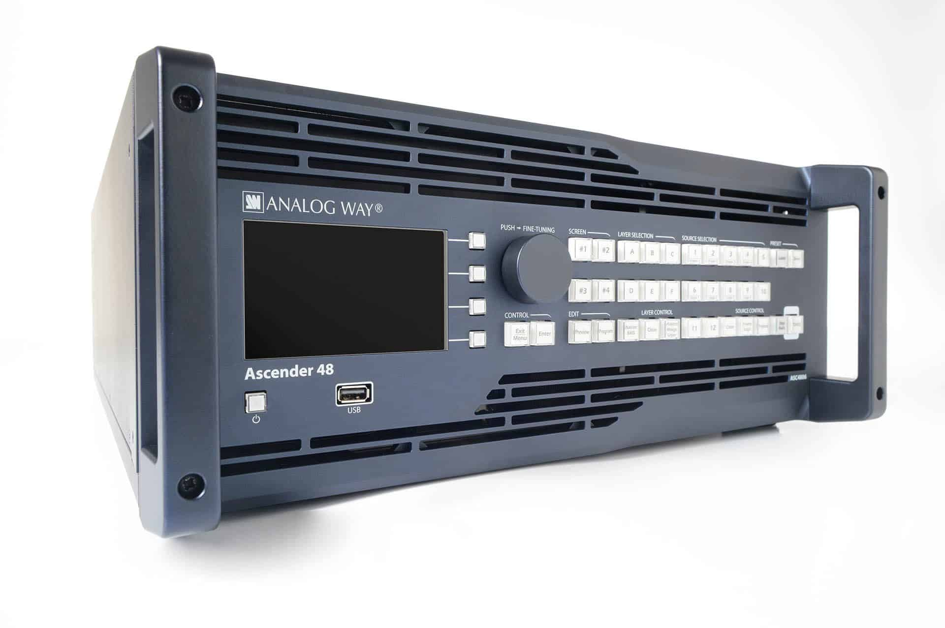 Analog Way Ascender 16:32:48-4K - JS AV Company
